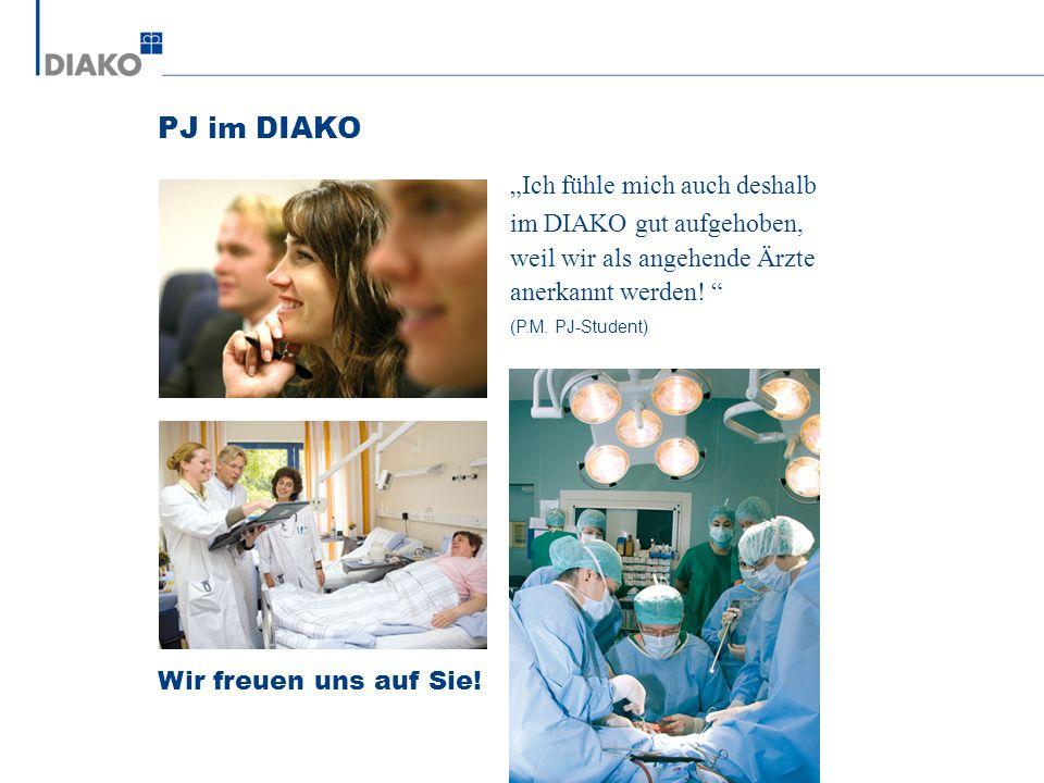 """PJ im DIAKO """"Ich fühle mich auch deshalb im DIAKO gut aufgehoben,"""