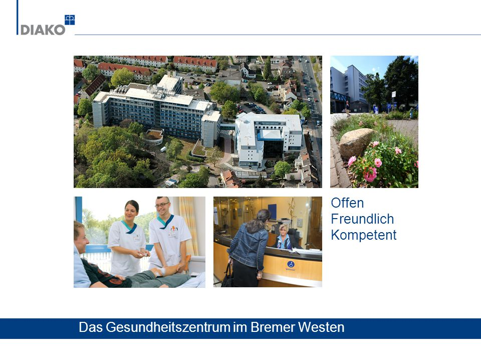 Offen Freundlich Kompetent Das Gesundheitszentrum im Bremer Westen