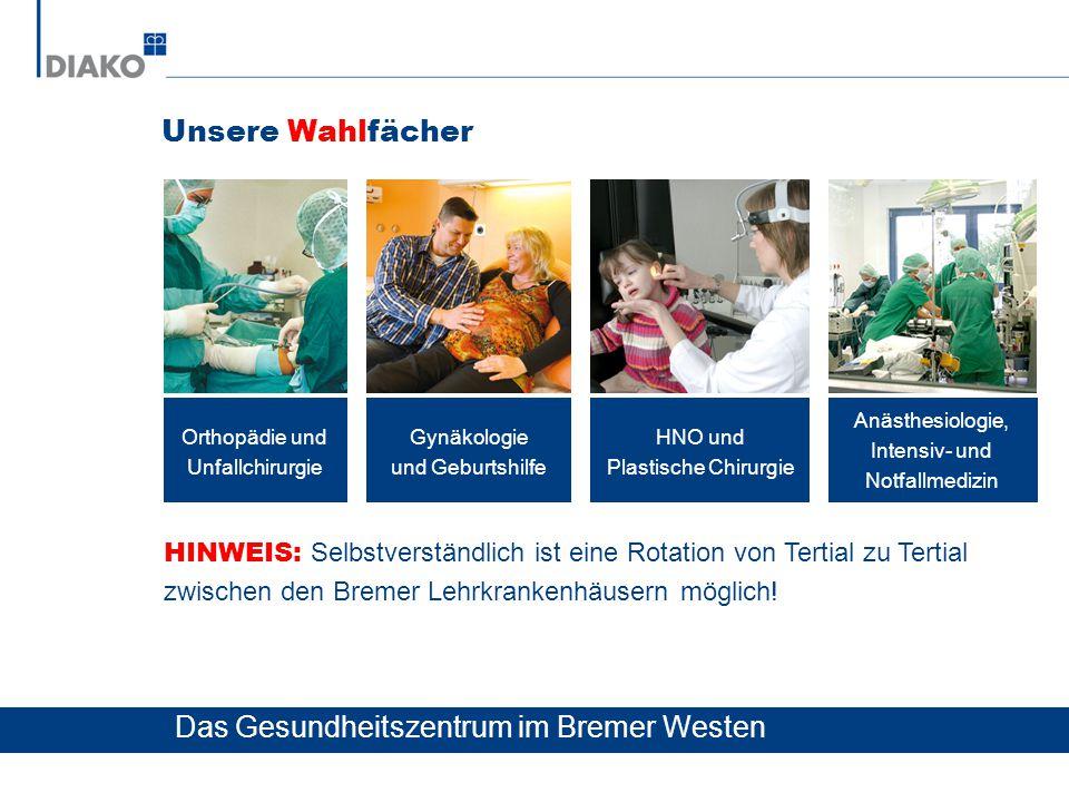 Das Gesundheitszentrum im Bremer Westen