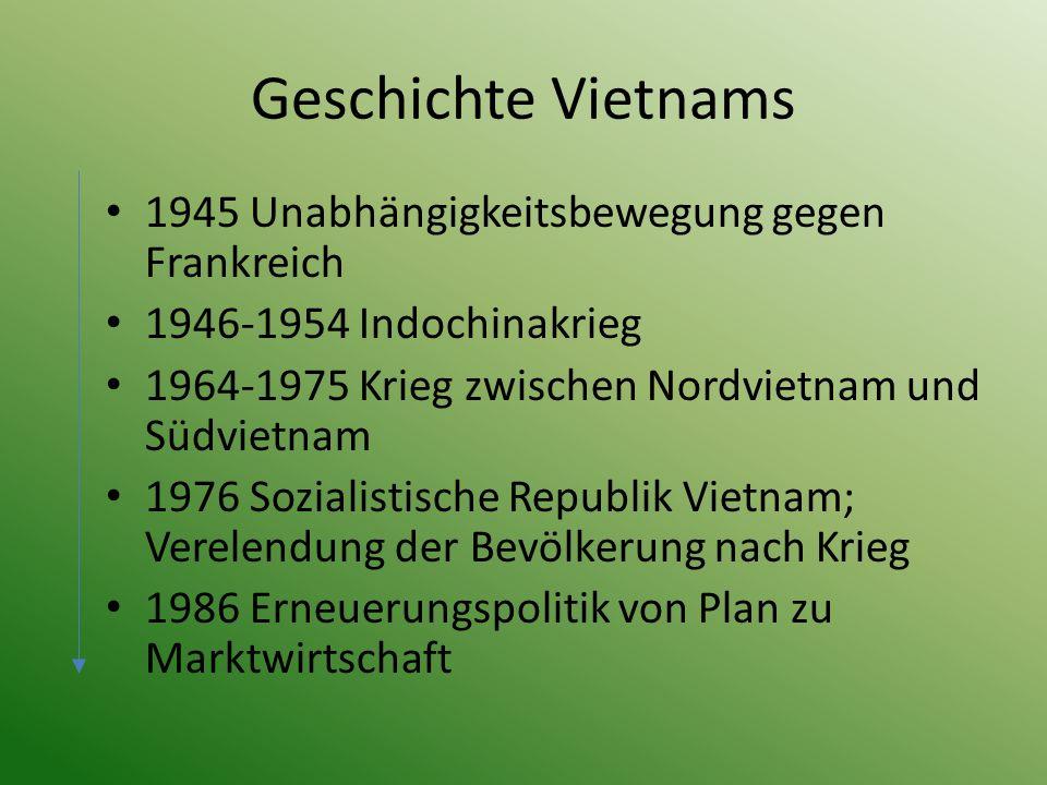 Geschichte Vietnams 1945 Unabhängigkeitsbewegung gegen Frankreich