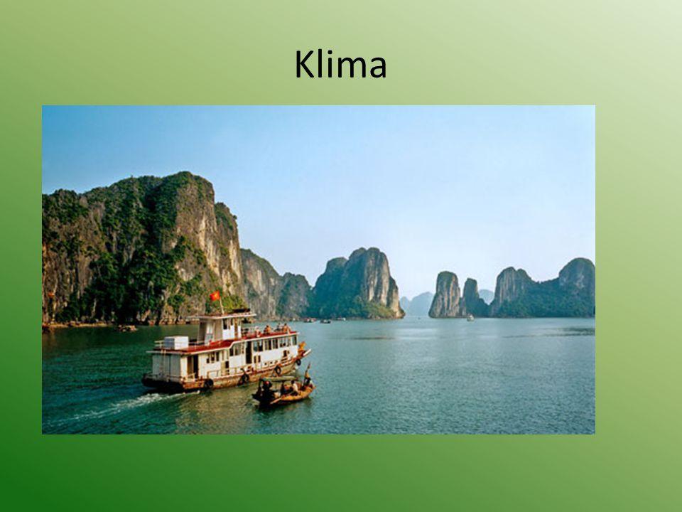 Klima Große klimatische Unterschiede zwischen Nord- und Südvietnam