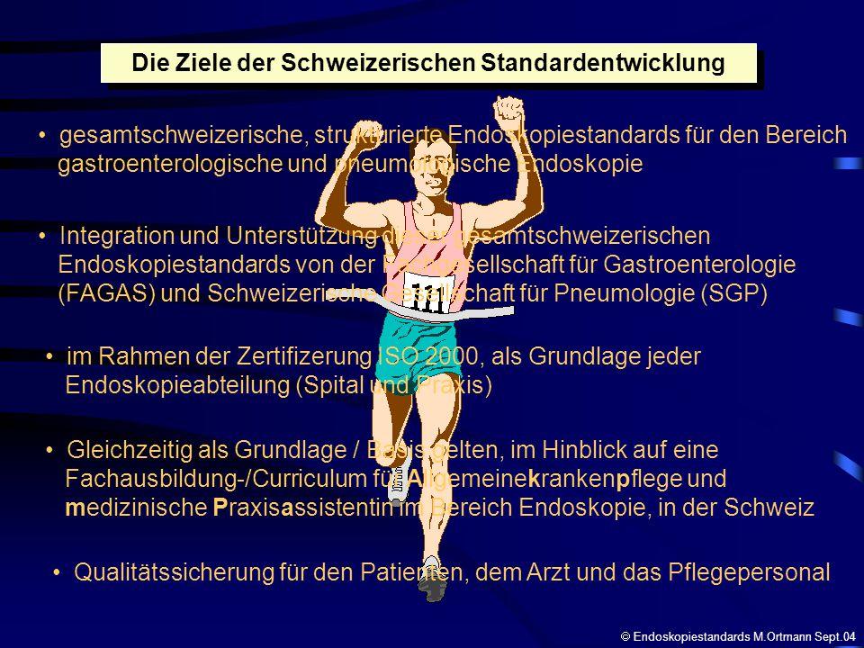 Die Ziele der Schweizerischen Standardentwicklung