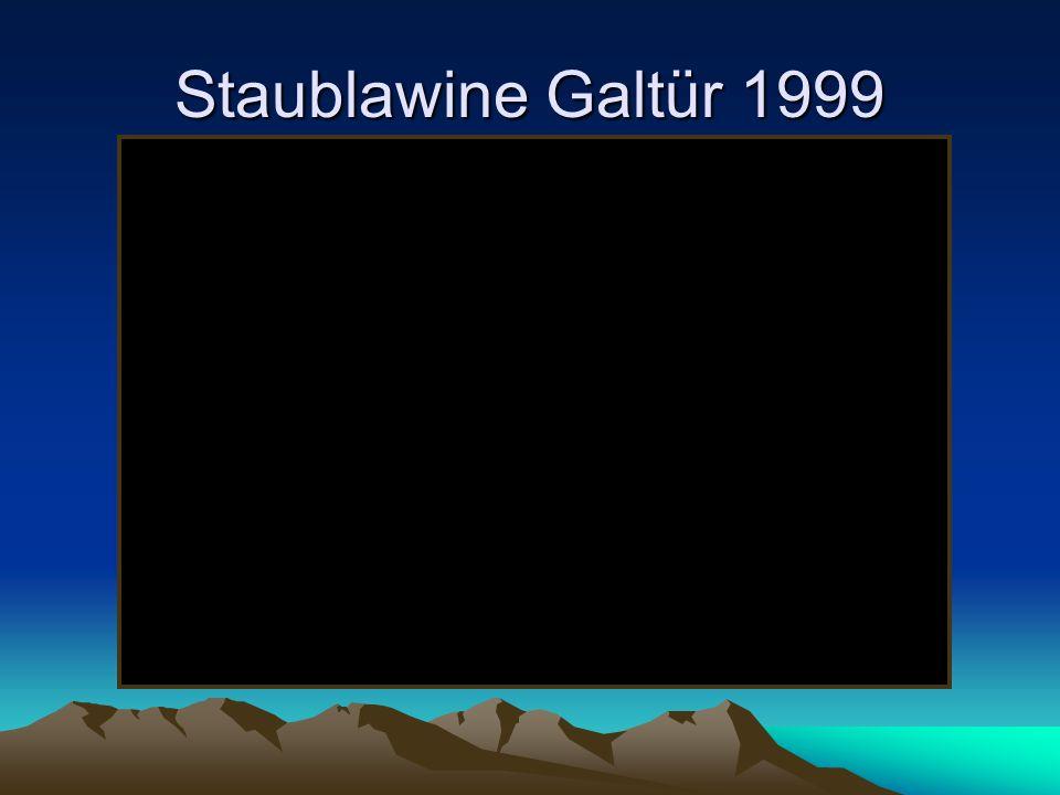 Staublawine Galtür 1999