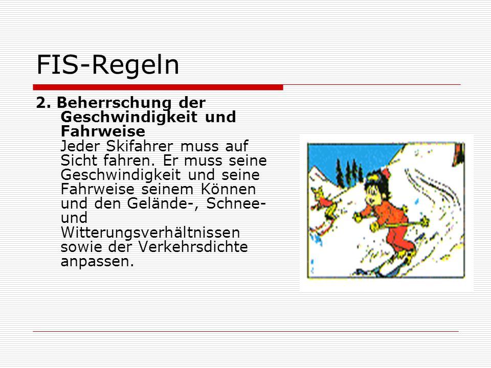 FIS-Regeln