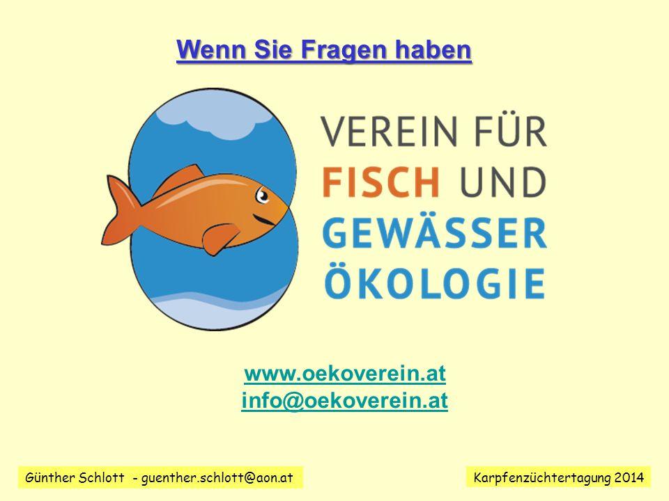 Wenn Sie Fragen haben www.oekoverein.at info@oekoverein.at