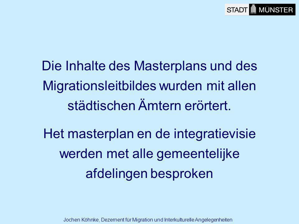 Die Inhalte des Masterplans und des Migrationsleitbildes wurden mit allen städtischen Ämtern erörtert.