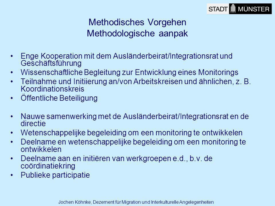 Methodisches Vorgehen Methodologische aanpak