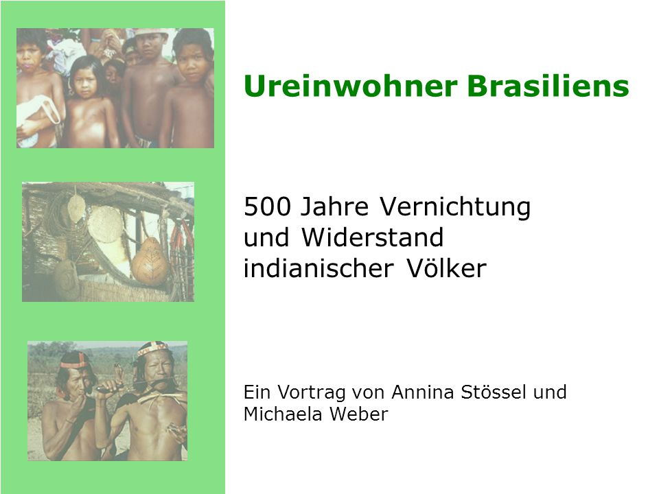 Ureinwohner Brasiliens