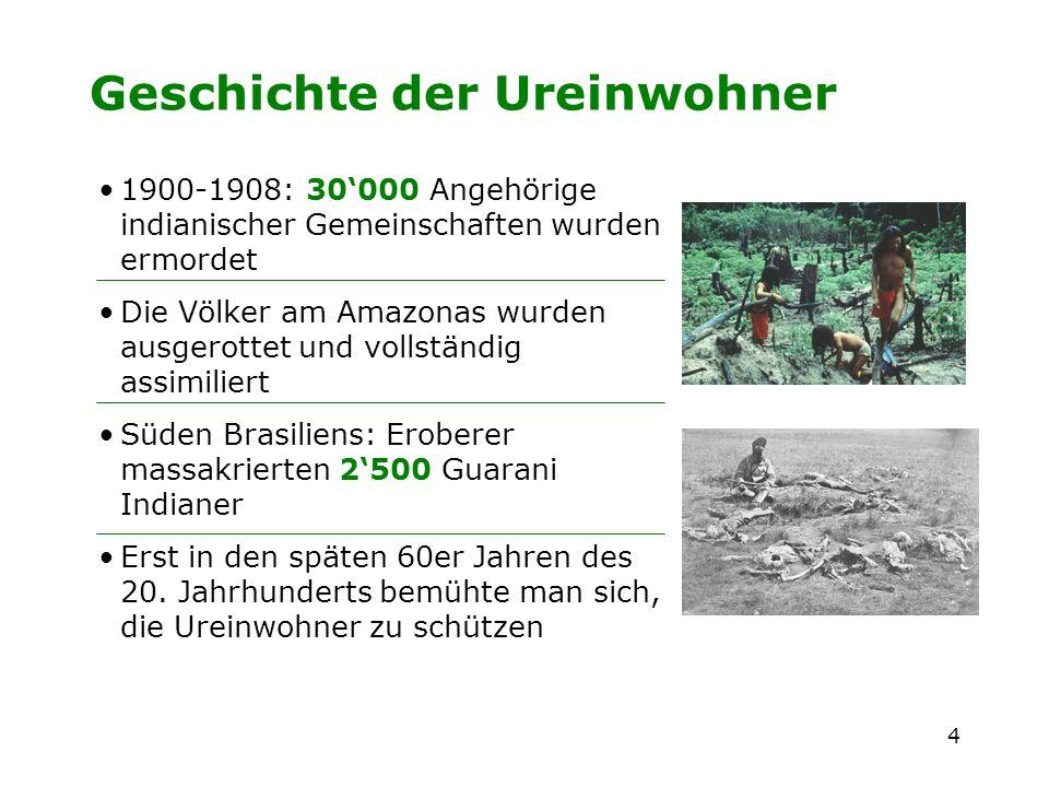 Geschichte der Ureinwohner
