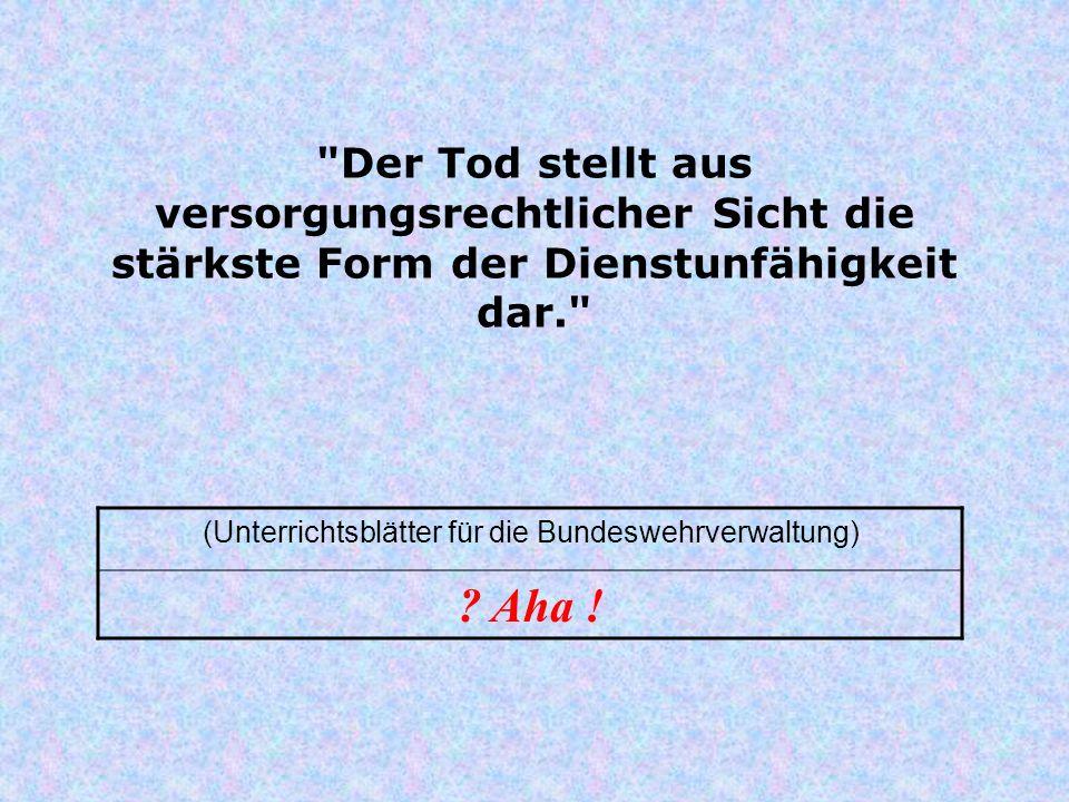 (Unterrichtsblätter für die Bundeswehrverwaltung)