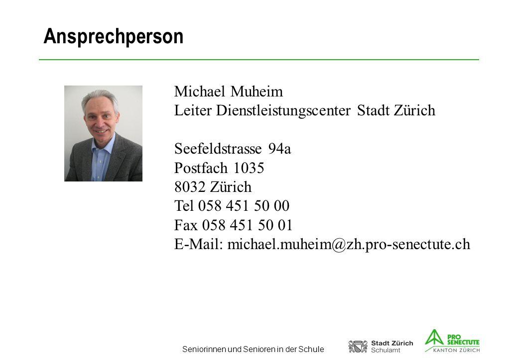 Ansprechperson Michael Muheim
