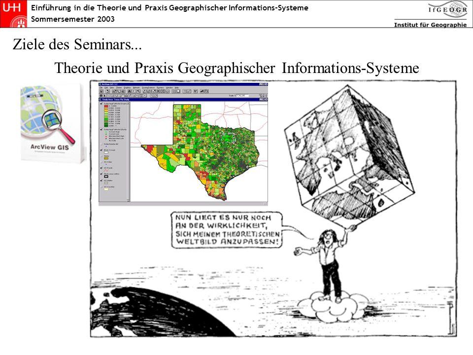 Theorie und Praxis Geographischer Informations-Systeme