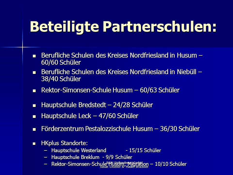 Beteiligte Partnerschulen: