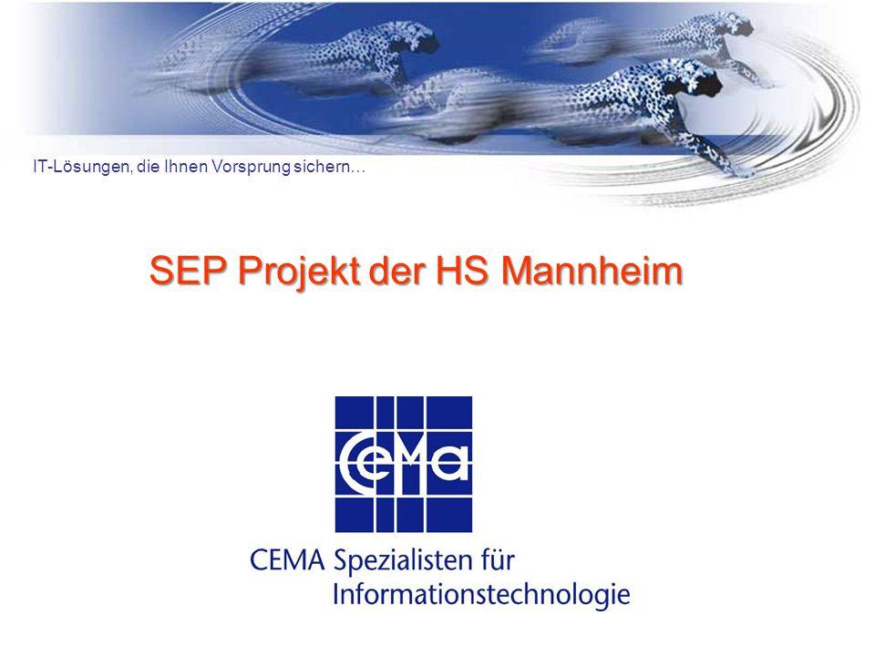SEP Projekt der HS Mannheim