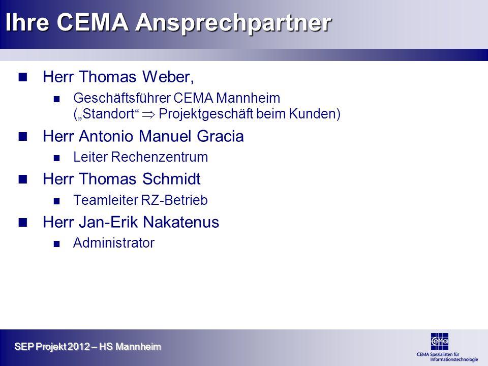 Ihre CEMA Ansprechpartner