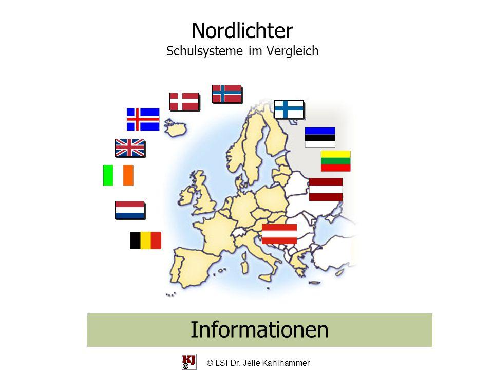 Nordlichter Schulsysteme im Vergleich