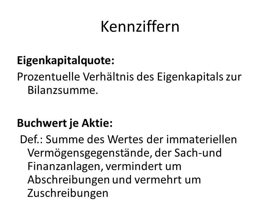 Kennziffern