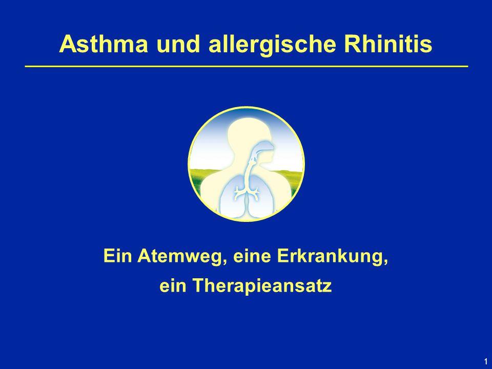 Asthma und allergische Rhinitis Ein Atemweg, eine Erkrankung,