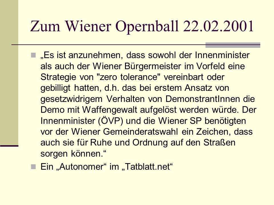 Zum Wiener Opernball 22.02.2001