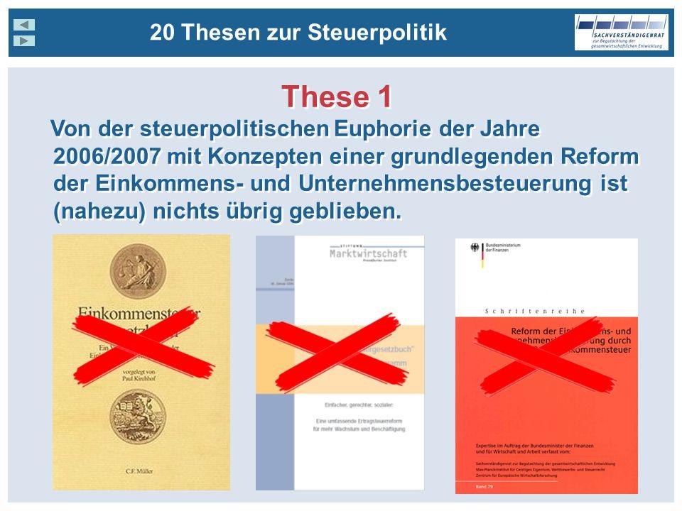 These 1 20 Thesen zur Steuerpolitik