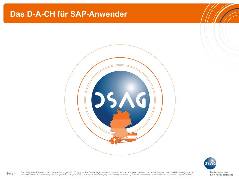 Das D-A-CH für SAP-Anwender