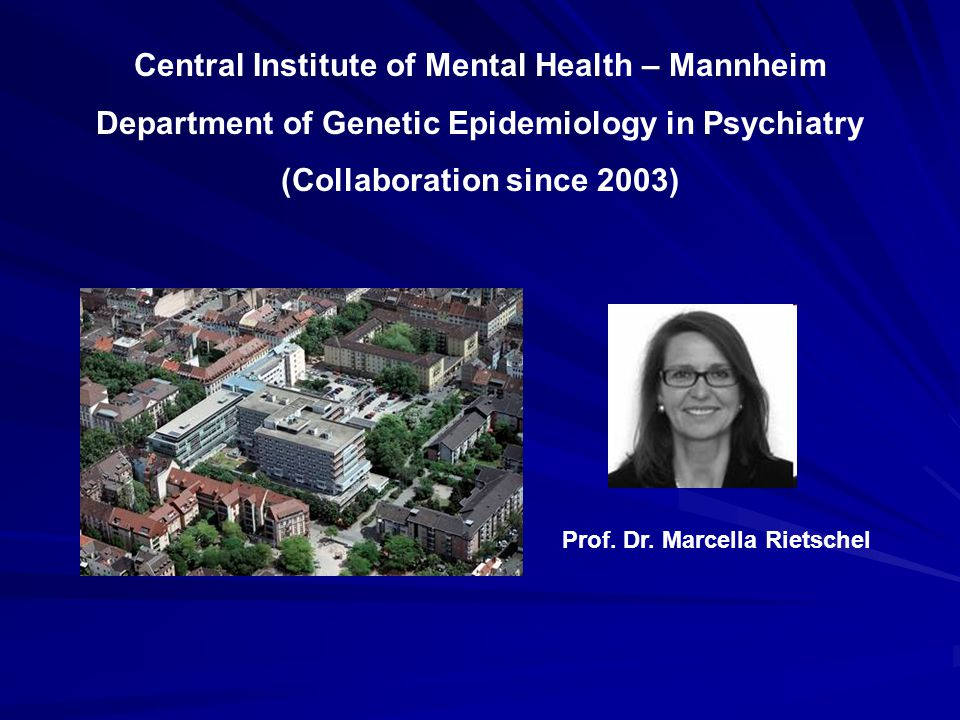 Central Institute of Mental Health – Mannheim