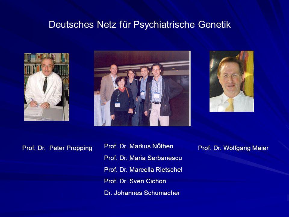 Deutsches Netz für Psychiatrische Genetik