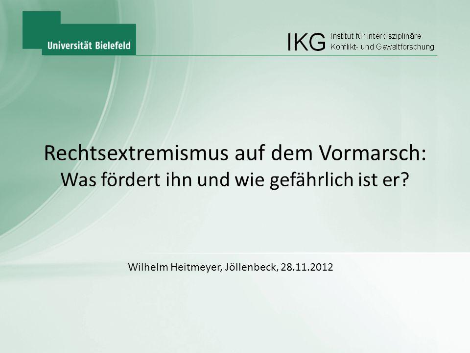 Wilhelm Heitmeyer, Jöllenbeck, 28.11.2012