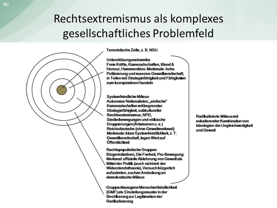 Rechtsextremismus als komplexes gesellschaftliches Problemfeld