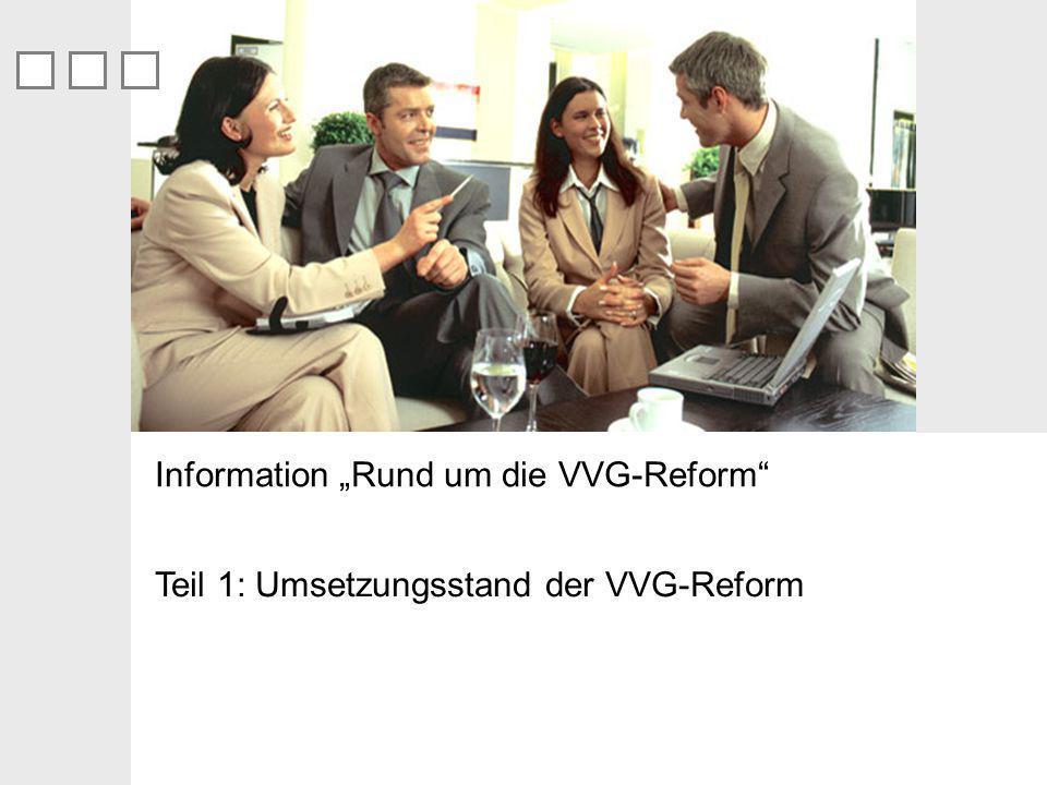 """Information """"Rund um die VVG-Reform"""