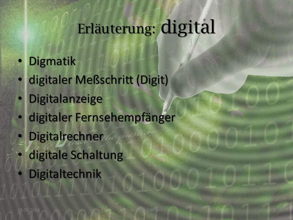 digitaler Meßschritt (Digit) Digitalanzeige digitaler Fernsehempfänger