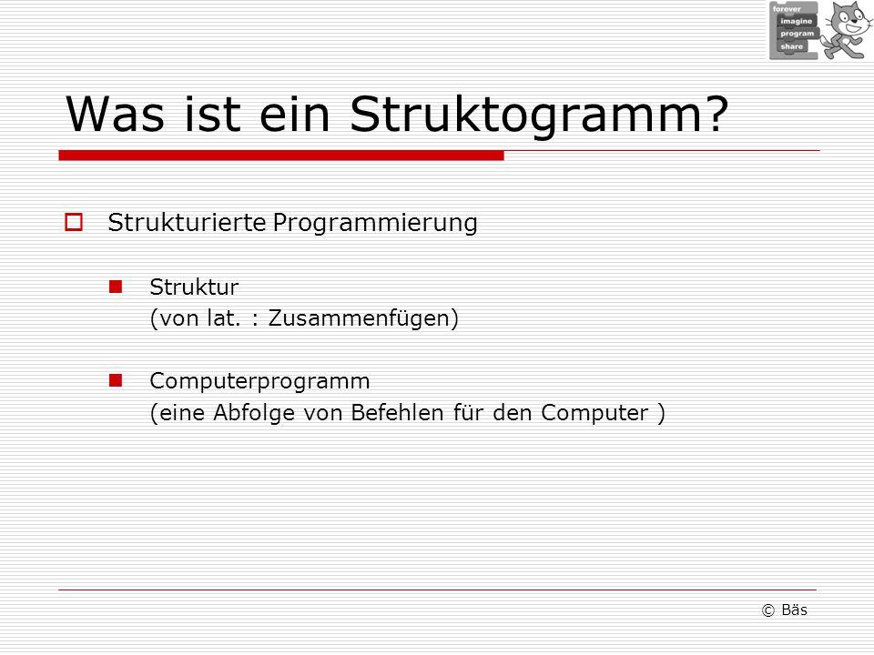 Was ist ein Struktogramm