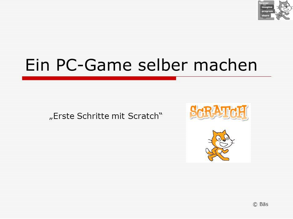 Ein PC-Game selber machen