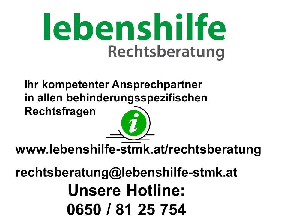 Unsere Hotline: 0650 / 81 25 754 Ihr kompetenter Ansprechpartner
