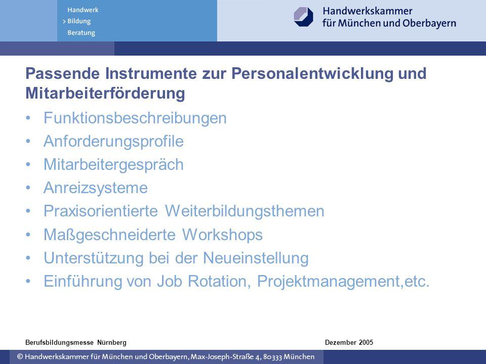 Passende Instrumente zur Personalentwicklung und Mitarbeiterförderung