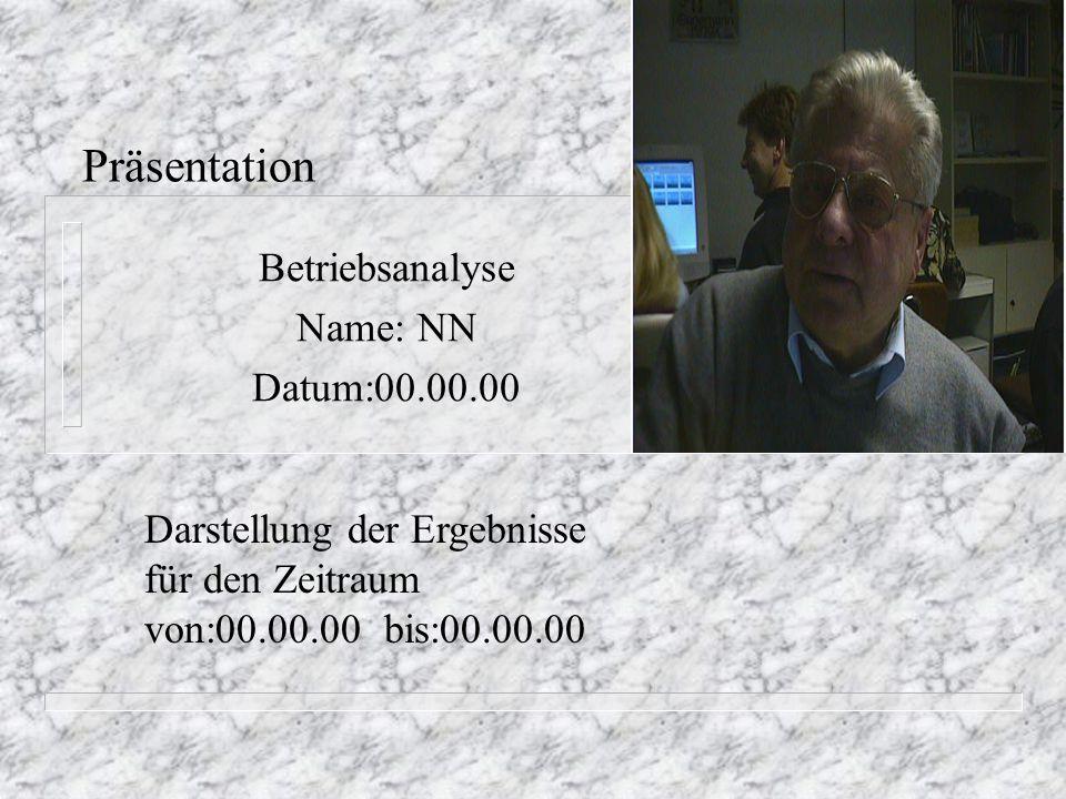 Betriebsanalyse Name: NN Datum:00.00.00