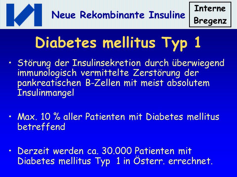 Diabetes mellitus Typ 1