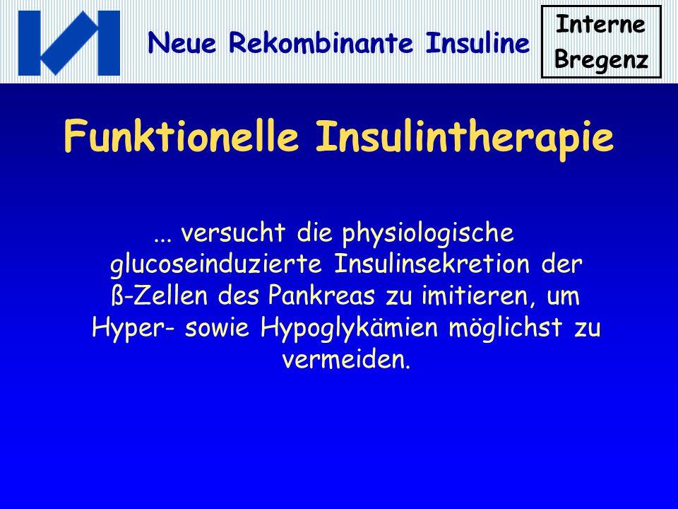 Funktionelle Insulintherapie