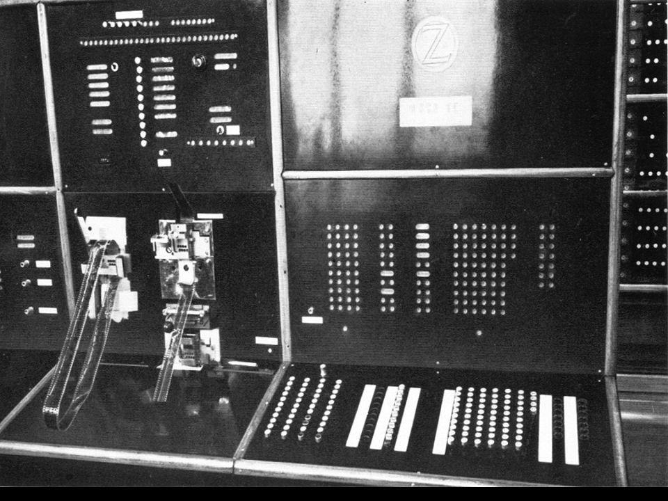 Kinofilme (35mm) als Lochstreifen zum Abspeichern von Programmen