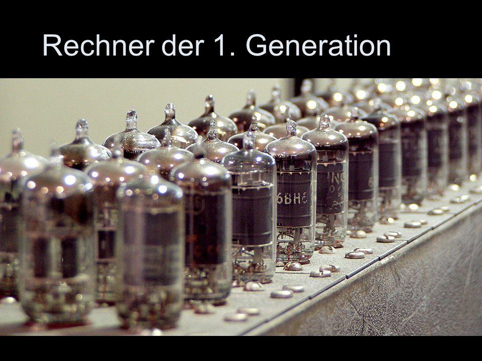 Rechner der 1. Generation