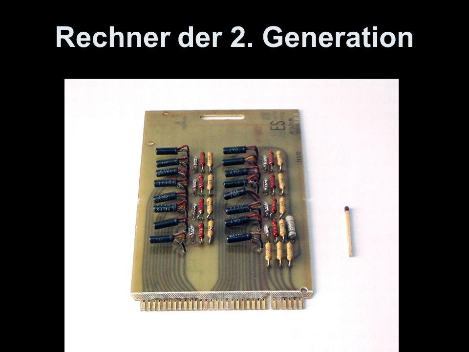 Rechner der 2. Generation