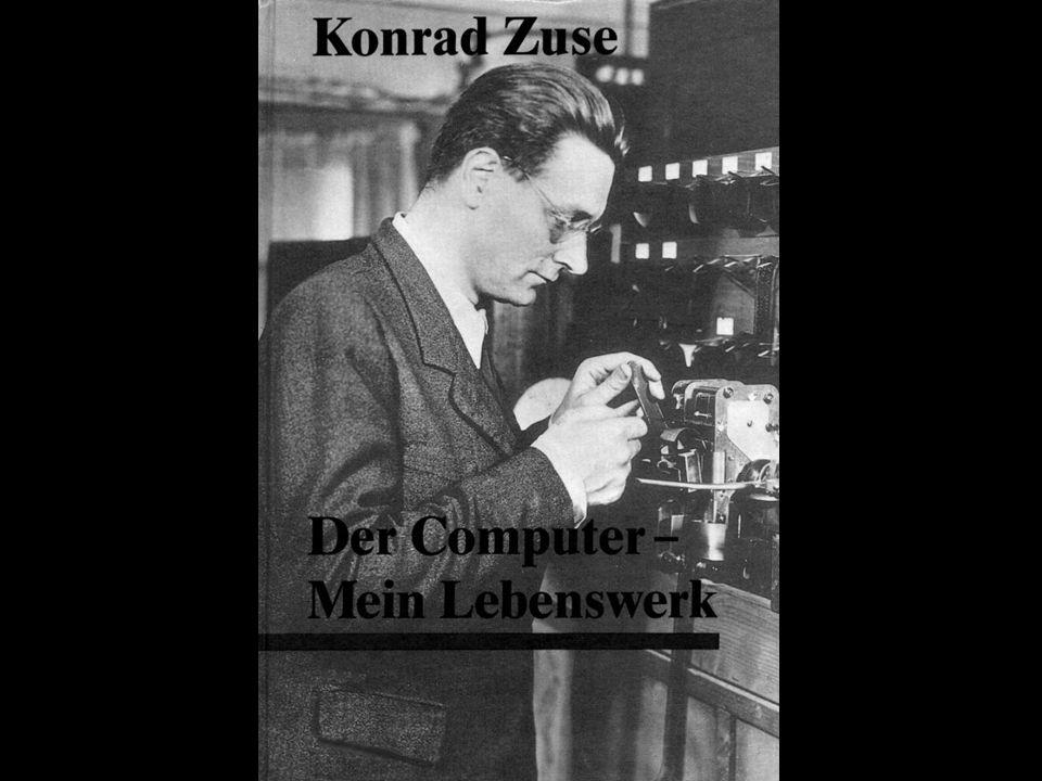 Conrad Zuse gilt als Erfinder des ersten programmierbaren Computers der Welt