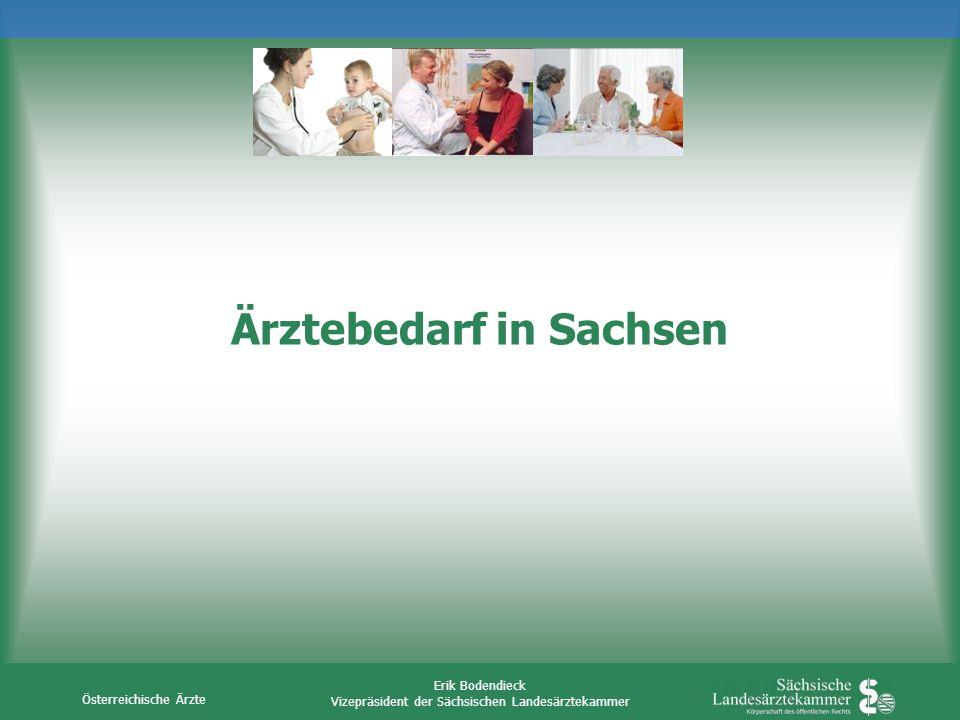 Ärztebedarf in Sachsen