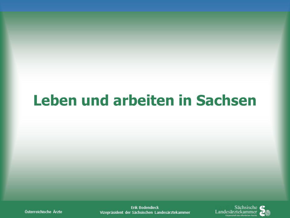 Leben und arbeiten in Sachsen