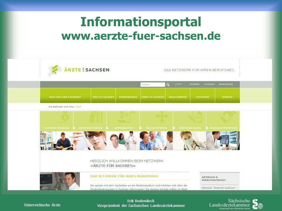 Informationsportal www.aerzte-fuer-sachsen.de