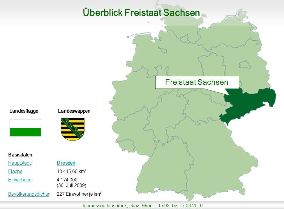 Überblick Freistaat Sachsen
