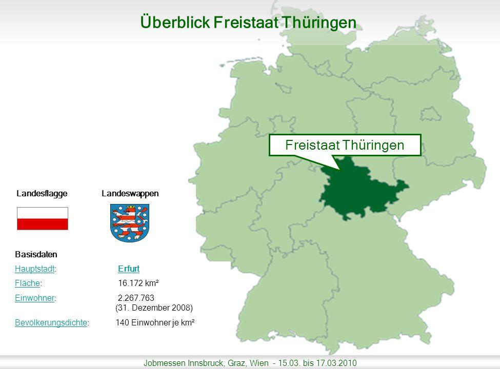 Überblick Freistaat Thüringen