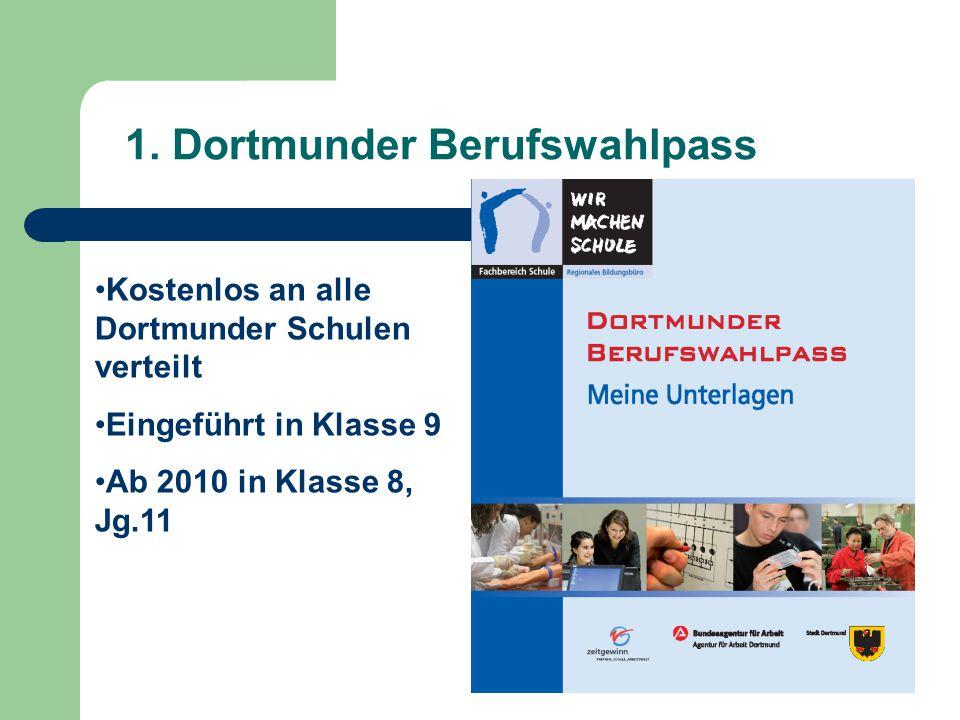 1. Dortmunder Berufswahlpass