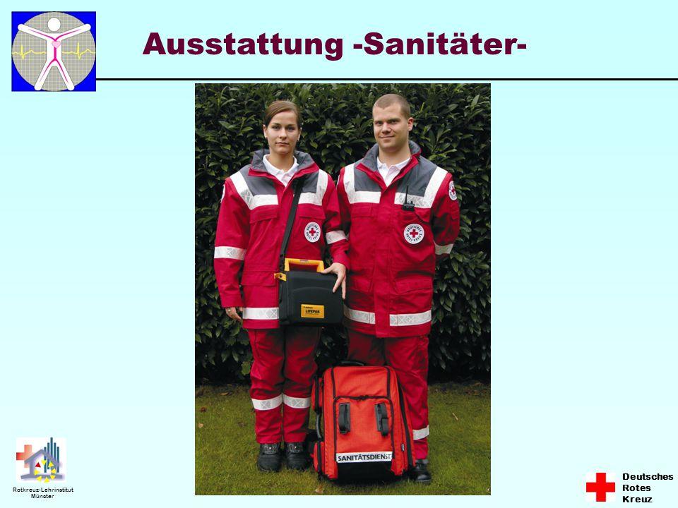 Ausstattung -Sanitäter-