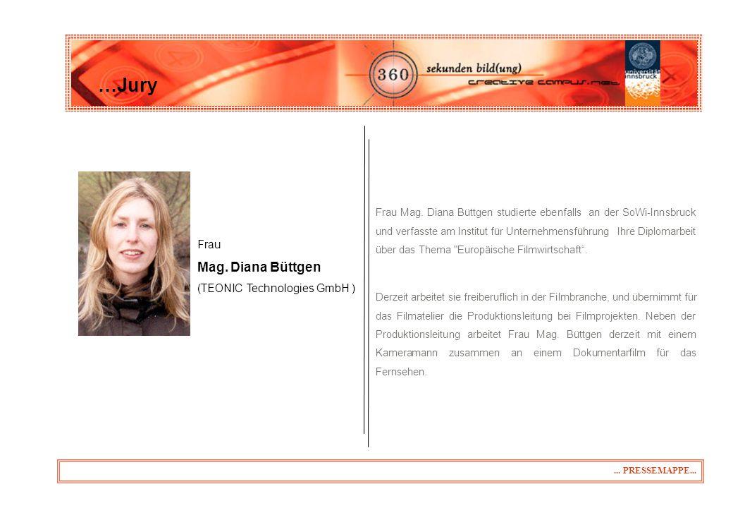 …Jury Mag. Diana Büttgen 31.03.2017 Frau (TEONIC Technologies GmbH )